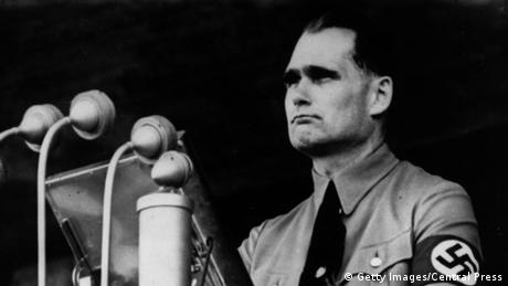 German politician and wartime deputy of Adolf Hitler, during a public speech.