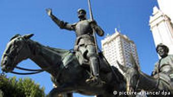 Statue of Don Quijote
