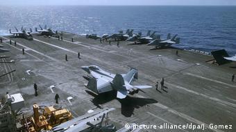 Territorialkonflikt im Südchinesischen Meer USS Theodore Roosevelt Manöver