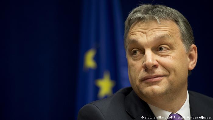 Hungarian Prime Minister Viktor Orban (picture-alliance/AP Photo/G. Vanden Wijngaer)
