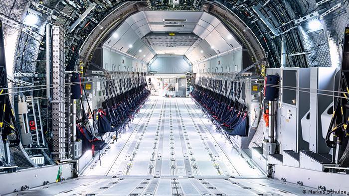 Грузовой отсек самолета Airbus A400M