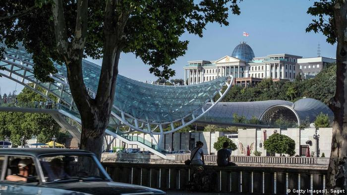 presidential palace in Tbilisi (Getty Images/J. Saget)