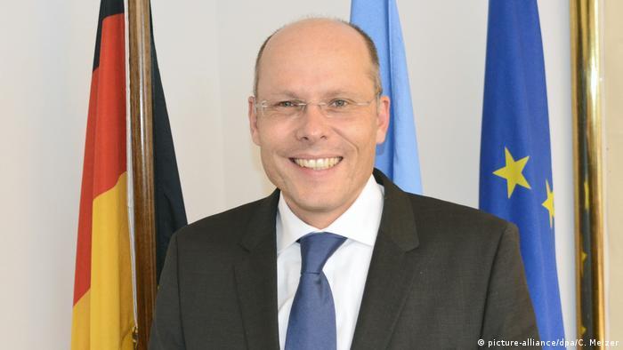 Peter Beyer neuer Koordinator der Bundesregierung für die transatlantische Zusammenarbeit (picture-alliance/dpa/C. Melzer)