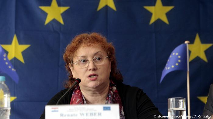Ceremoniile realității: Renate Weber voia să scape cu mustrare scrisă |  România | DW | 18.06.2021