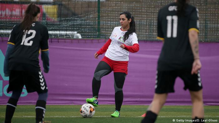 Afghanistan Frauen Fußball Training Khalida Popal