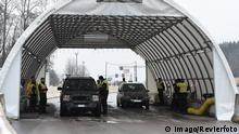 Deutschland Grenze zu Österreich Kontrolle Grenzübergang Walserberg