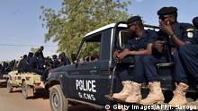 Niger Polizei in Niamey