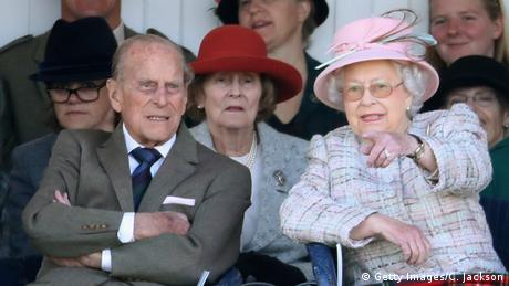 Queen Elizabeth and Prince Philip (Getty Images/C. Jackson)