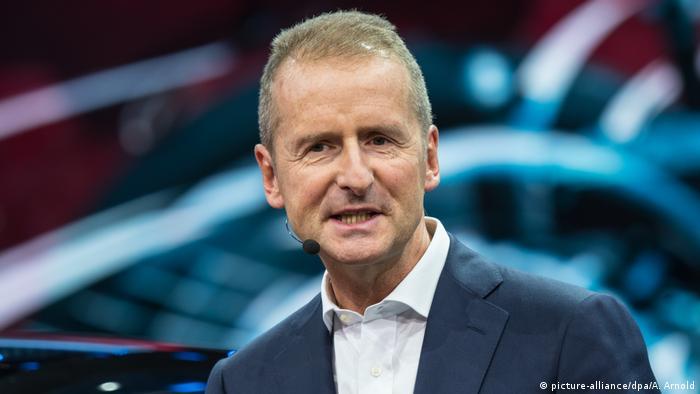 Herbert Diess neuer VW Konzernchef