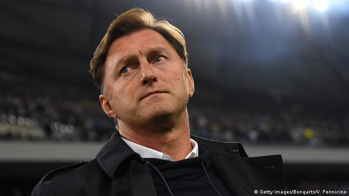 UEFA Europa League Viertelfinale | Olympique Marseille - RB Leipzig | Ralph Hasenhüttl (Getty Images/Bongarts/V. Pennicino)