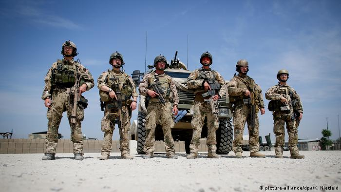 German troops in Afghanistan in 2013