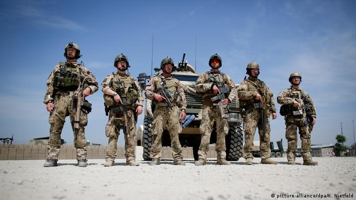 Afghanistan Bundeswehr Feldlager in Kundus