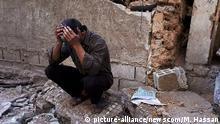 Syrien Duma Trauer nach Giftgasangriff