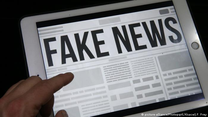 Fake News (picture-alliance/Photopqr/L'Alsace/J.F. Frey)