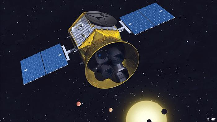 A conceptual image of the TESS mission