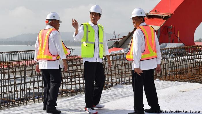 Indonesien Präsident Joko Widodo Besuch in Papua (Laily Rachev/Biro Pers Setpres)