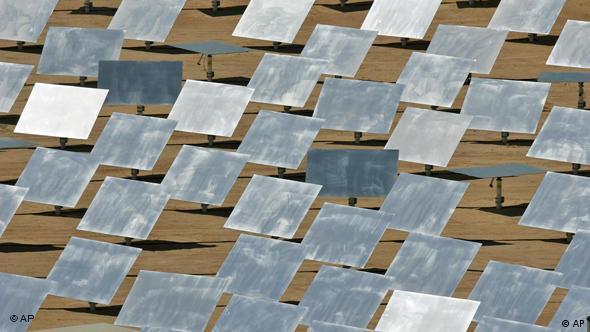 Solarenergie in der Wüste Flash-Galerie