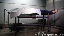 Leiche von Avijit Roy, einem US-Blogger aus Bangladesch