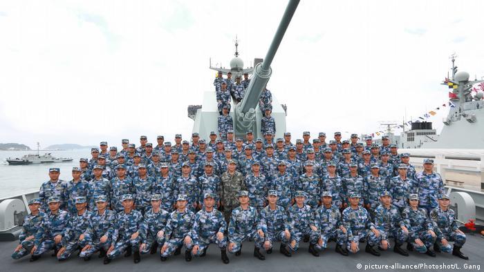 Pequim faz questão de ostentar potencial militar
