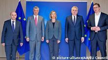 Brüssel Vermittlung Serbien und Kosovo