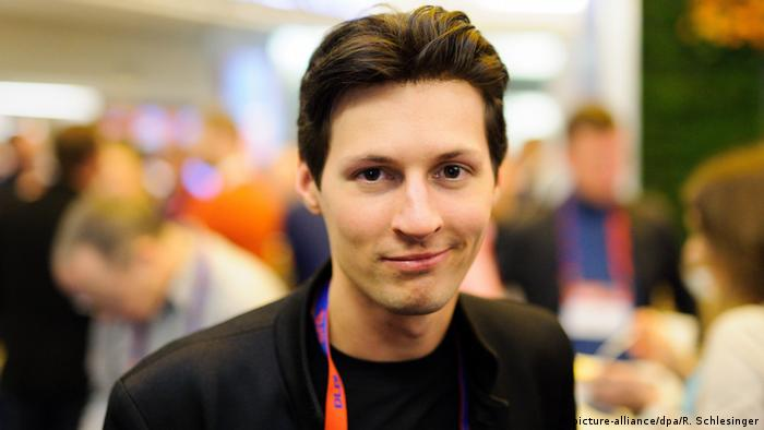 Pavel Durov, the founder of Telegram (picture-alliance/dpa/R. Schlesinger)