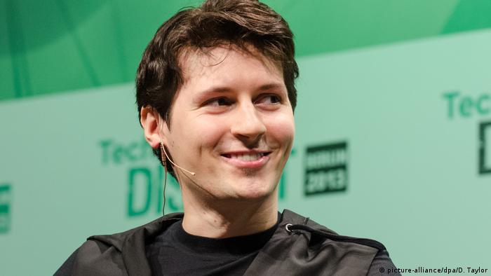 Telegram'ın kurucusu ve başkanı Pawel Durow