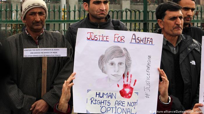 Rape and murder of eight-year-old divides Jammu and Kashmir
