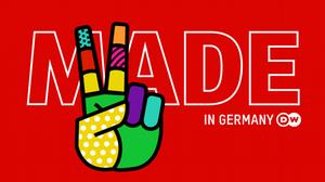 DW Made in Germany Sendungslogo englisch