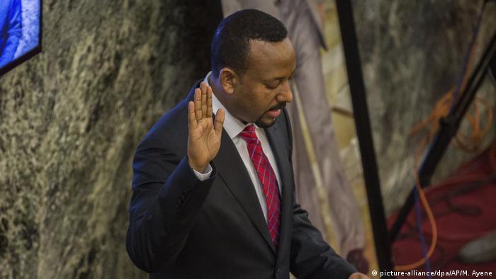 Äthiopien Neuer Ministerpräsident Abiy Ahmed Ali vereidigt