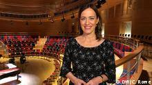 Sarah Willis im Pierre Boulez Saal in Berlin