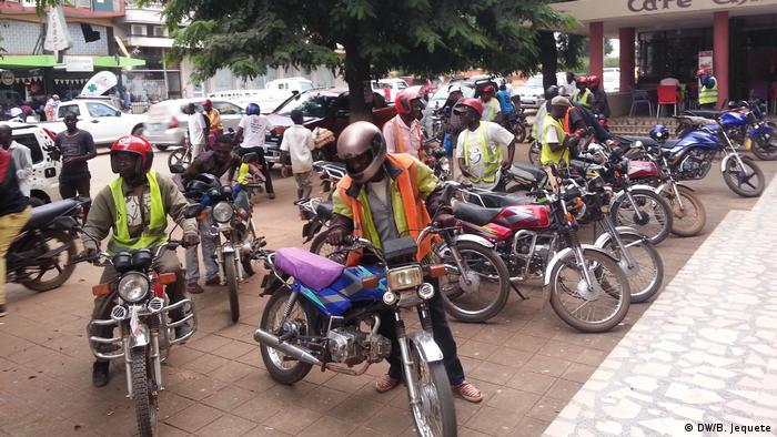 Moto-taxistas de Manica