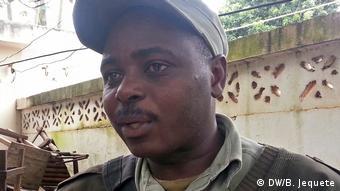 Mosambik Paulo Gimo Polizeisprecher von Chimoio