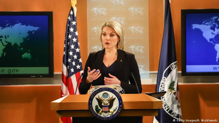 USA State Department - Heather Nauert (Getty Images/A. Wroblewski)
