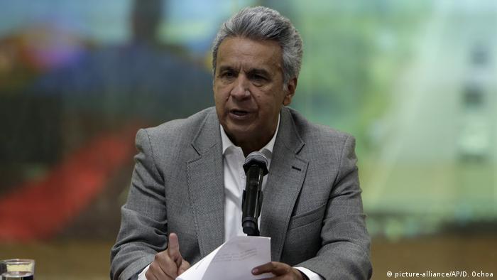 Ecuador Kolumbien - Drei Journalisten an Grenze zu Kolumbien entführt - Präsident Lenin Moreno