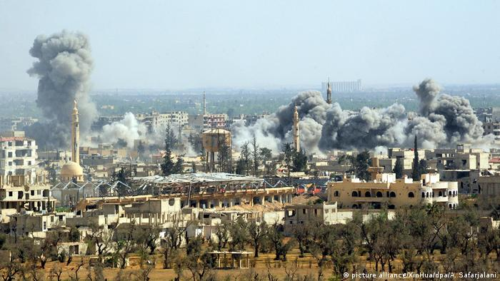 Chemical attack on Douma, Syria