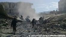 Syrien - nach dem Giftgasangriff auf Duma