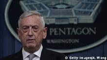 USA Militärschlag auf Syrien - Verteidigungsminister Mattis