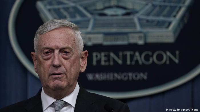 USA Militärschlag auf Syrien - Verteidigungsminister Mattis (Getty Images/A. Wong)