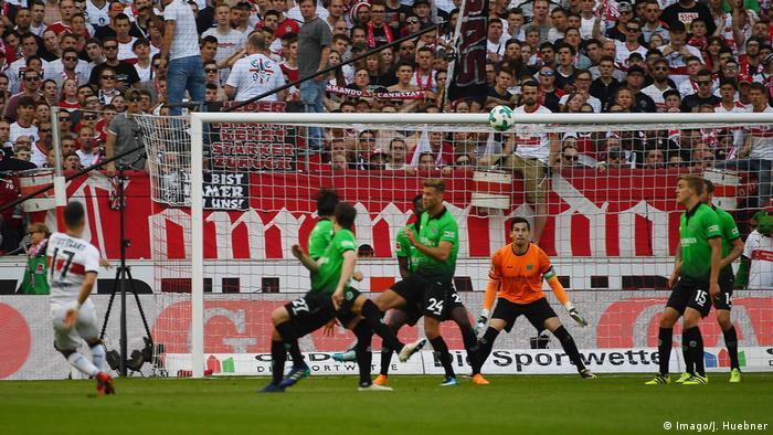 1. Bundesliga 30. Spieltag | VfB Stuttgart - Hannover 96 | TOR Stuttgart (Imago/J. Huebner)