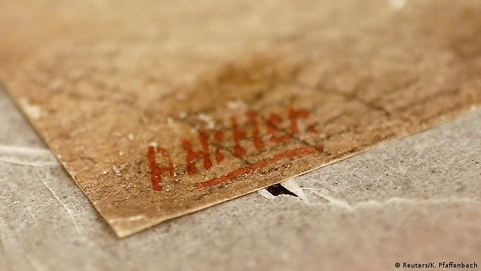 Hitler Signature