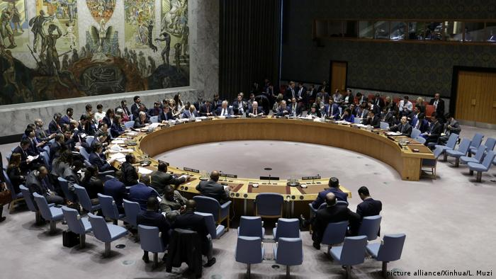 The UN Security Council (picture alliance/Xinhua/L. Muzi)