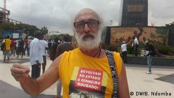 Angola Luanda   Protest gegen Rückführung von Kapital