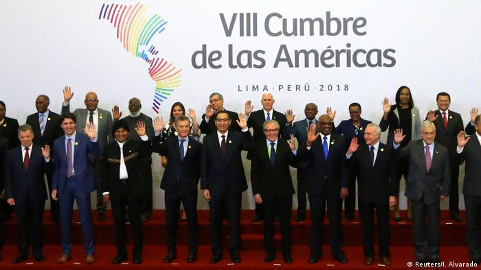 Peru Amerika-Gipfel in Lima (Reuters/I. Alvarado)