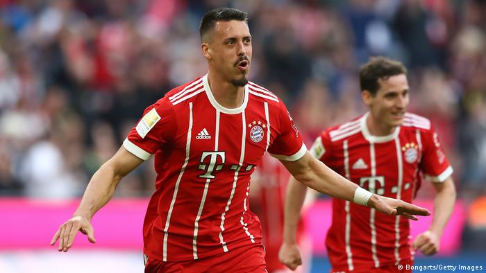 Bayern Munich's Sandro Wagner (Bongarts/Getty Images)