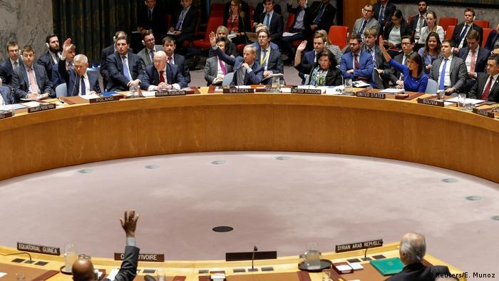 USA UN-Sicherheitsrat - Abstimmung gegen Russische Resolution (Reuters/E. Munoz)