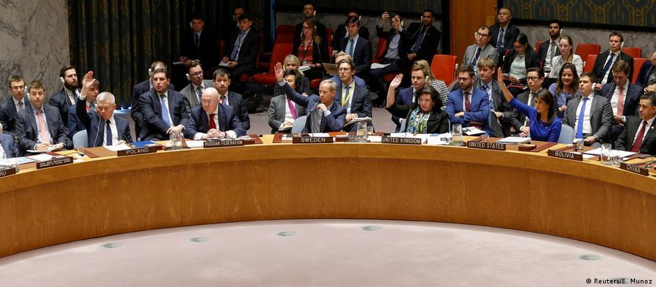 Conselho de Segurança da ONU se reuniu neste sábado após solicitação da Rússia