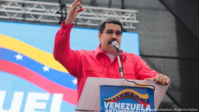 Venezuela Nicolás Maduro in Caracas (Reuters/Handout: Miraflores Palace)