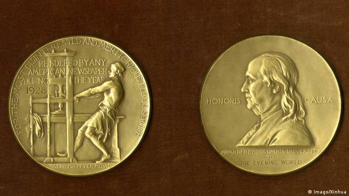 Pulitzer Preis Medaille