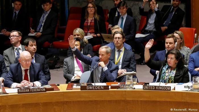 Голосование в СБ ООН