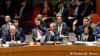 UN-Sicherheitsrat in New York | Abstimmung Syrien